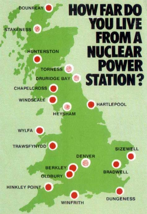 How far do you live from a nuclear Power Station?