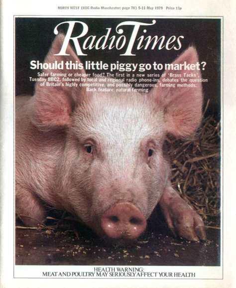 Sick Pig, Radio Times, 5-11 May 1979