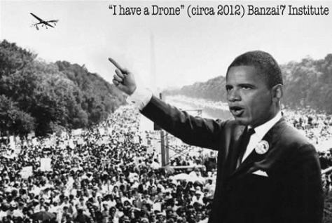 Obama - I Have a Drone