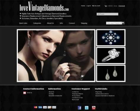 loveVintageDiamonds.com Home Page