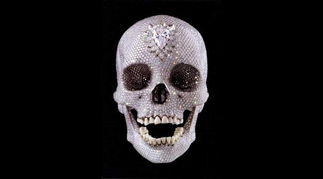 Diamond Skull, Damien Hirst