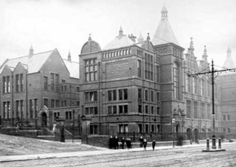 Harehills Middle School in the past