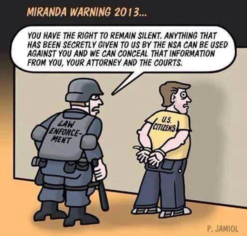 Miranda Warning 2013