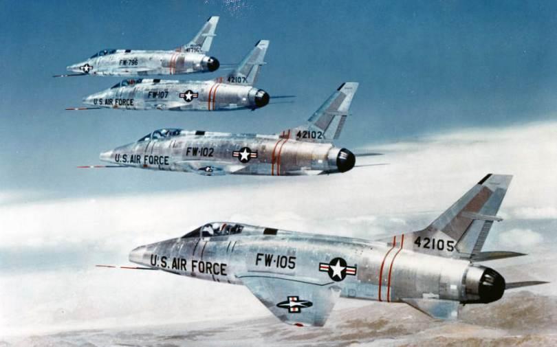F-100 Super Sabre Jet Fighter