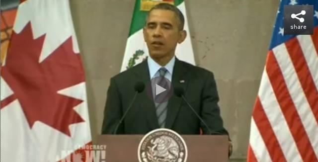 President Obama, Mexico, Feb 2014