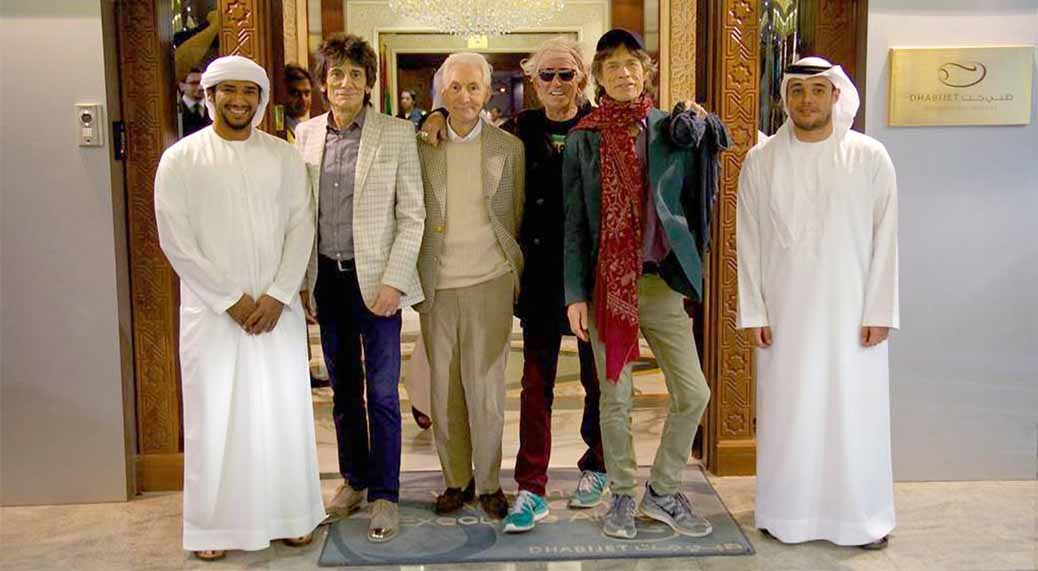 The Rolling Stones in Abu Dhabi
