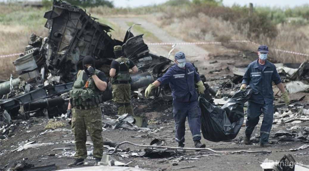Flight MH17 Crash Site