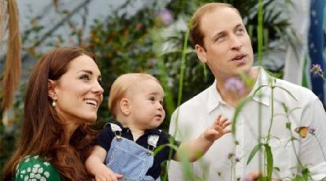 Prince George and the Butterfly