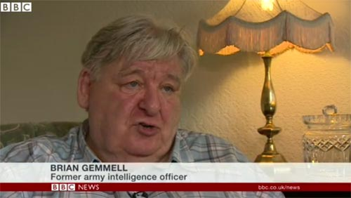 Brian Gemmell: Former Army Intelligence Officer