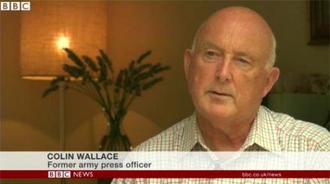 Colin Wallace: Former Army Press Officer