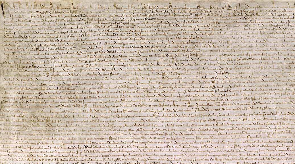 Magna Carta (Fragment)