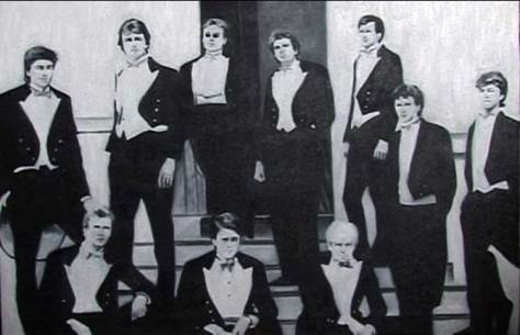 Oxford Bullingdon Club featuring David Cameron and Boris Johnson