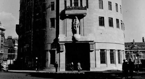 Eric Gill Sculpture BBC Broadcasting House