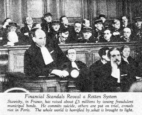 Financial Scandals, Picture Post, January 1941
