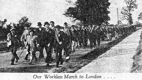 Jarrow March 1936 from Picture Post, January 1941