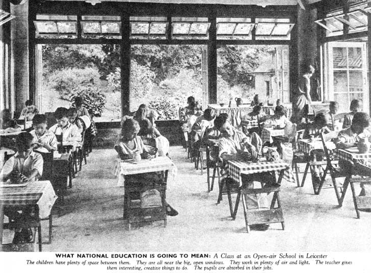National Education, Picture Post January 1941