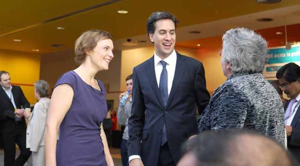 Ed & Justine Miliband at the 2011 Labour Party Conference