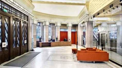 BBC Broadcasting House Foyer