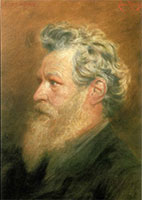 William Morris, Portrait by Cosmo Rowe