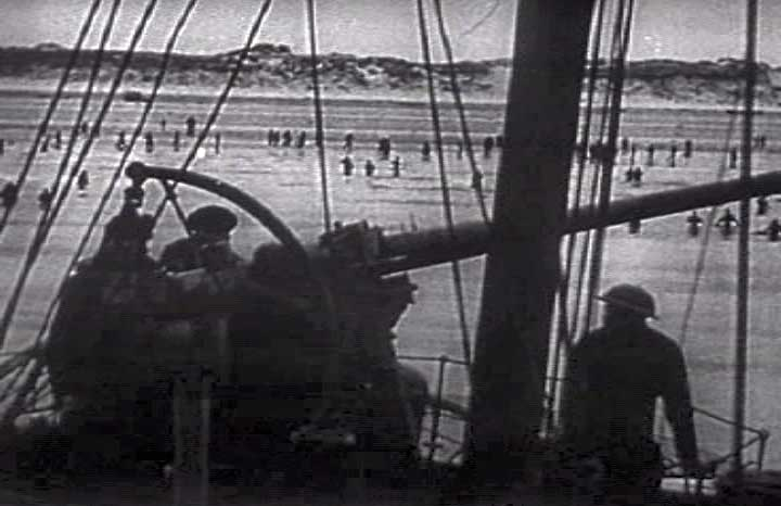Evacuation of Dunkirk, June 1940