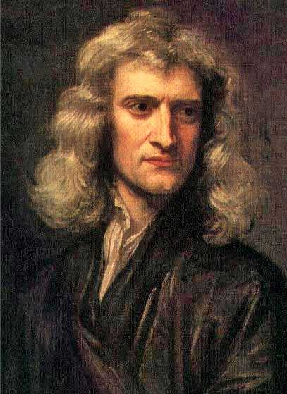 Portrait of Sir Isaac Newton by Godfrey Kneller, 1689